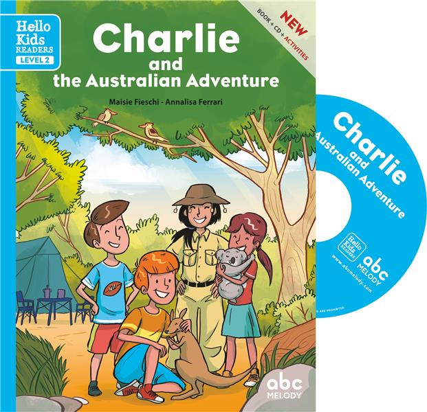 CHARLIE AND THE AUSTRALIAN ADVENTURE - LEVEL 2